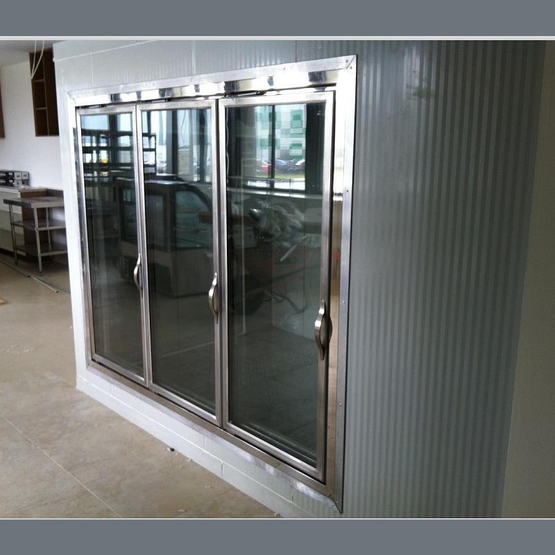 Glass Door Cold Storage Cold Room Walk In Cooler